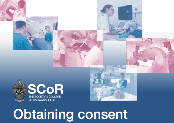 Consent information from Society & College of Radiographers